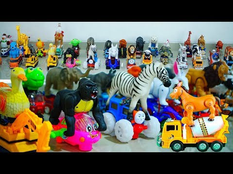 Mainan Hewan Bisa Jalan | Nama Dan Suara Binatang | Video Edukasi Anak Balita
