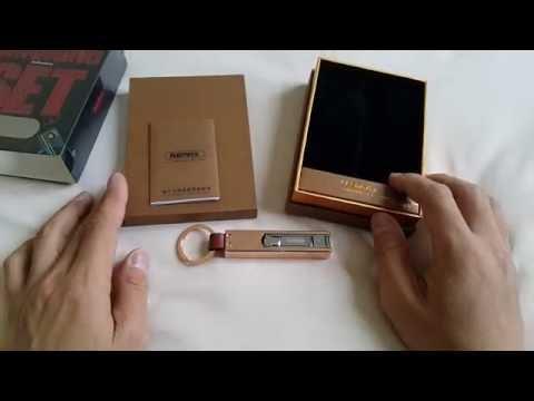 Review  Smoking Set Remax พวงกุญแจ มีพร้อมที่จุดบุหรี่ และมีที่ตัดเล็บในตัว