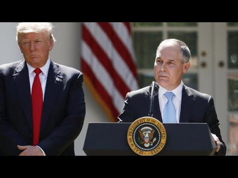 Scott Pruitt resigns from EPA after numerous investigations