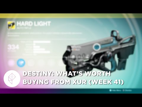 Here's what's worth buying from Destiny's Xur, June 19 - 21