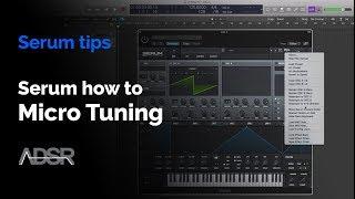 serum micro tuning - how to