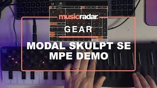 Modal Skuplt Synth SE - MPE Demo