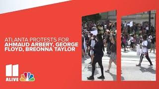 Protests in metro Atlanta   Live