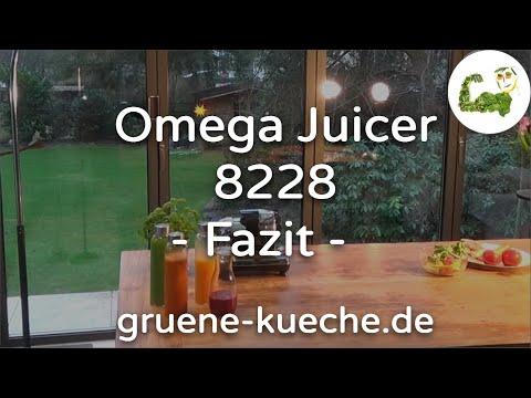 Omega Juicer 8228 - Zusammenfassung (Teil 4/4)