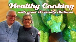 Shaved Zucchini & Scate ..::.. Healthy Cooking With Your Friendly Italians #33