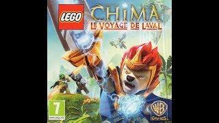 LEGO Chima Laval's Journey/ Voyage de Laval 3DS: Croc Fort/ forteresse des Crocodiles  COMPLET