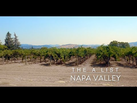 The A List in Napa Valley
