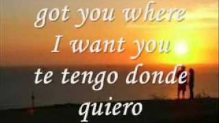 Got you (where I want you) letra ingles español The Flys