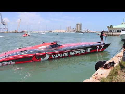2017 Space Coast Grand Prix Practice Highlights - Wake Effects Offshore Racing