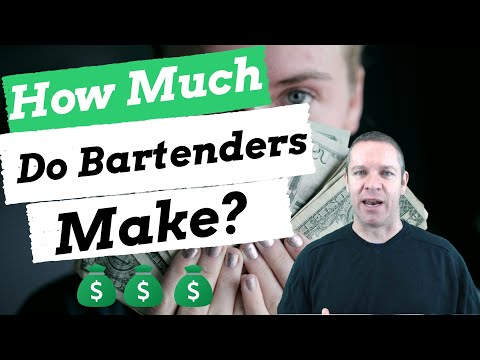 Bartender Salary: How Much Do Bartenders REALLY Make?