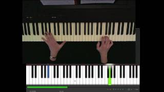 Omar Khairat, Fatma, عمر خيرت-فاطمة piano tutorial