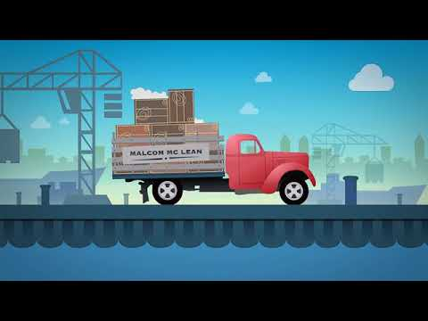 Malcom McLean and Containerisation | Maersk Line