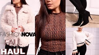 FALL FASHION NOVA TRY ON HAUL 2018 | Blissfulbrii
