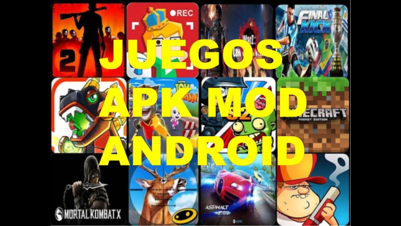Pack Juegos Apk Modificado Android Full Dscarga Youtube
