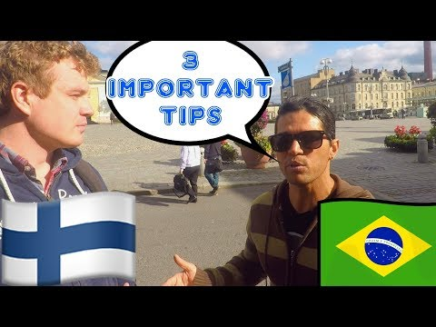 Advice for Immigrating to Finland - Toni's Story