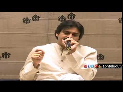 Janasena Pawan Kalyan Press meet | Interacts with NRI wing
