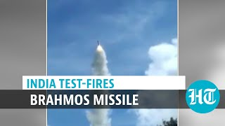 Watch: India tests BrahMos missile's land-attack version amid border tension
