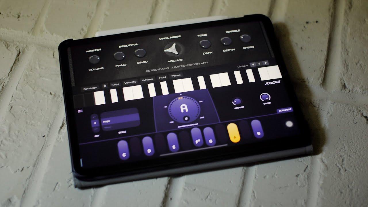 New Limited AudioKit Apps (Retro Piano, AudioTune) Walkthrough