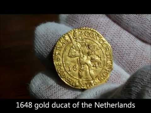 1648 gold ducat of the United Provinces of the Netherlands