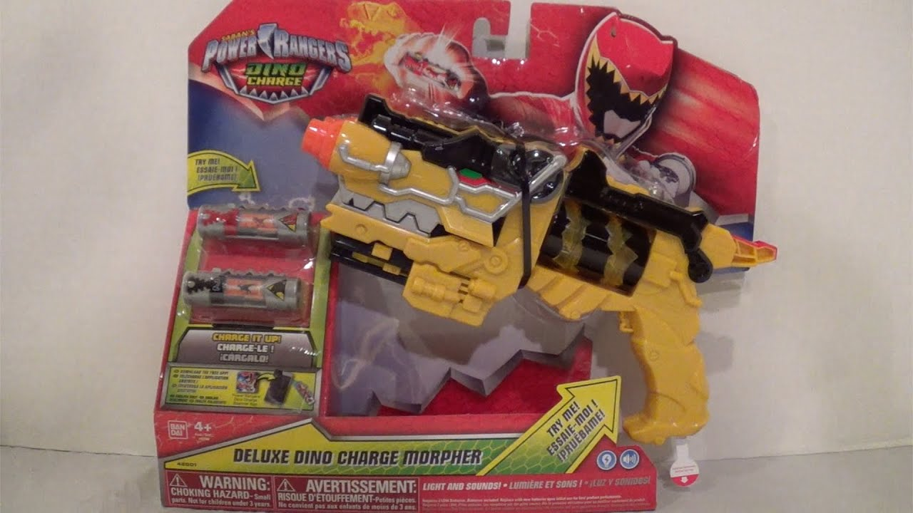 Deluxe Dino Charge Morpher Review Power Rangers Dino