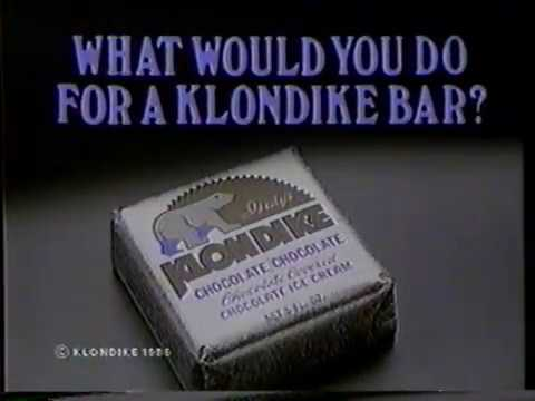 """1986 Klondike Bar """"What Would You Do?"""" TV Commercial"""
