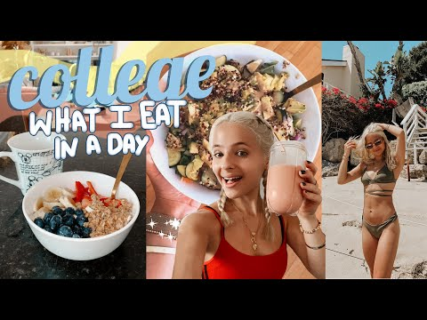 What I Eat During a Day of Online Classes | Ella Elbells