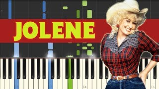 Jolene - Dolly Parton [Piano Tutorial] (Synthesia)