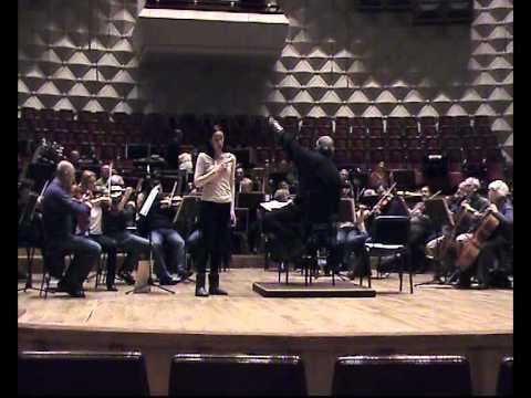 Valse De Juliette. Ketevan Gavasheli. Tbilisi. 25.01.2012.AVI