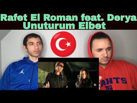 AMERICANS FIRST REACTION TO Rafet El Roman feat. Derya - Unuturum Elbet