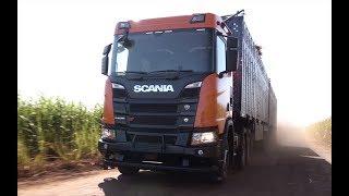 Scania nueva generación - Presentación en Brasil - Matías Antico - TN Autos