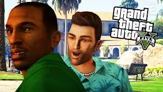 GTA 5 Rockstar Characters Mods - Niko, CJ, Tommy, Claude, John Marston and More