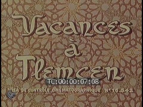 Vacances à Tlemcen (1954)