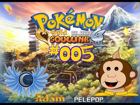 Pokemon Gold Silber Soullink Challenge 005 Deutsch Adamantios