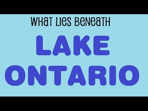 What is Under Lake Ontario?