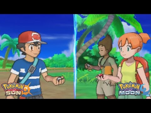 Pokemon Sun and Moon: Ash Vs Alola Brock and Alola Misty (Ash vs Misty and Brock)