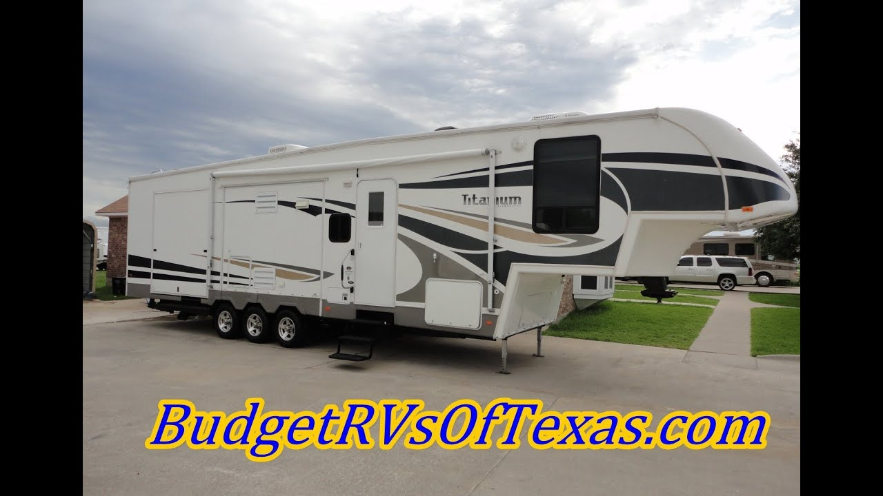 2007 Titanium Toy Hauler By Glendale Rv True Luxury In A