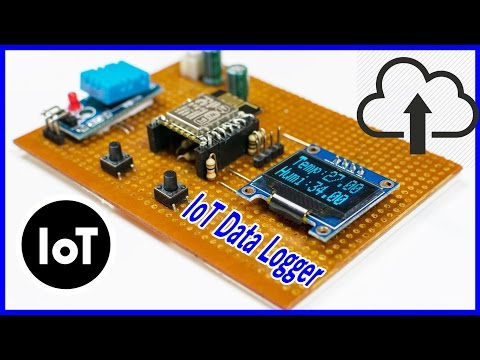 DIY How To Make A Simple IoT Data Logger Using ESP8266