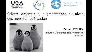 SP2020Aut -#2.1-Urruty Benoît- Calotte Antarctique, augmentations du Niveau des mers de Modélisation