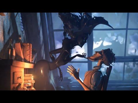 ► Court métrage d'animation 3D (Sang d'Encre)