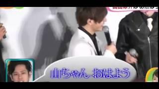 暗殺教室 初日舞台あいさつ 山田涼介が二.