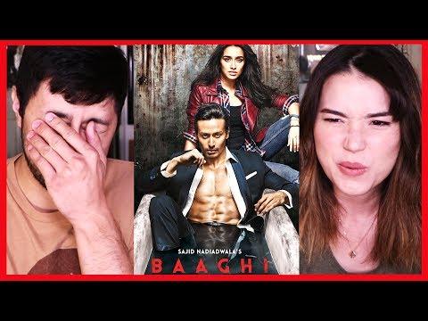 BAAGHI 1   Trailer Reaction