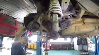 Митсубиши Лансер Х (Mitsubishi Lancer X) ремонт задней подвески в Машины Людям