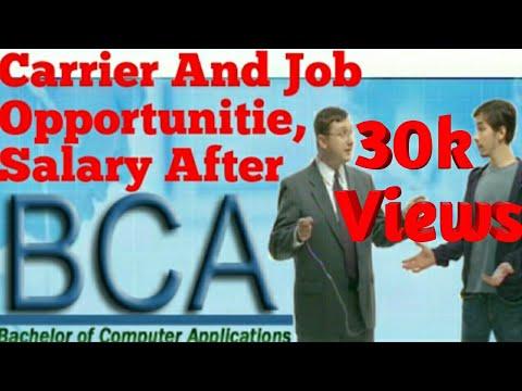 BCA करने के बाद क्या करे कहा करे Job||Career And opportunitie,Salary After BCA || Hindi ||2017