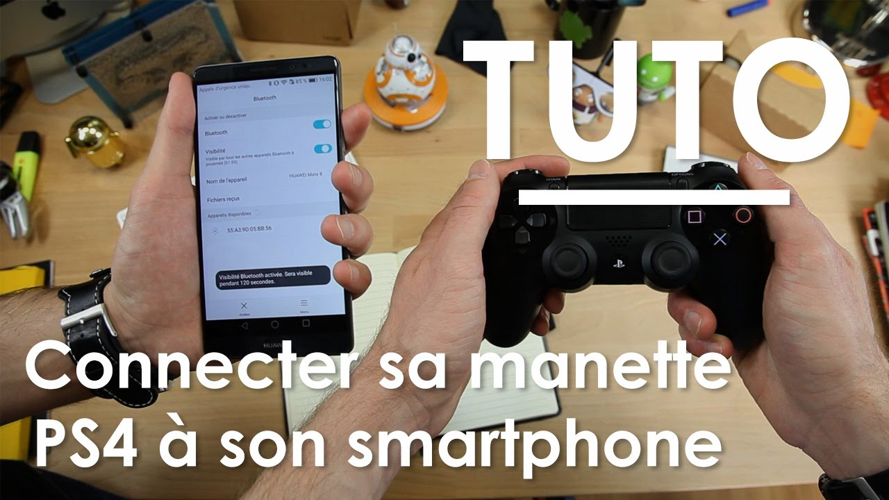 Connecter sa manette de PS4 sur son smartphone Android [TUTO]  #Smartphone #Android