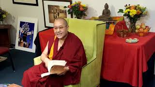 Khenpo Thubten Gongphel  - Three Visions:  Part One -Tsechen Namdrol Ling  Santa Fe NM