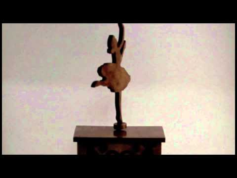 Ballerina Music Box by WilmerWoodWorks