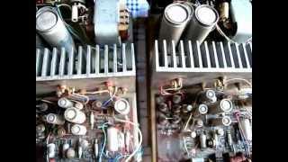 Amplifier Class AB: Killer vacuum tubes amp, Gorizont, 1976 (Dual Mono, Stabilizer)