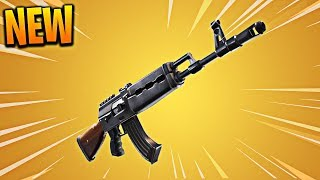 """NEW """"HEAVY AR"""" in Fortnite! Fortnite Heavy Assault Rifle Gameplay Coming Soon! (Heavy AR Update)"""