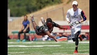 New York's Marques Brownlee Superman Layout In AUDL Championship Game