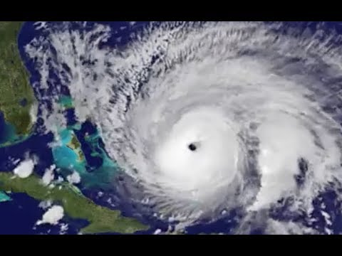 Hurricane Maria Churns Towards US Mainland- Satellite Animation